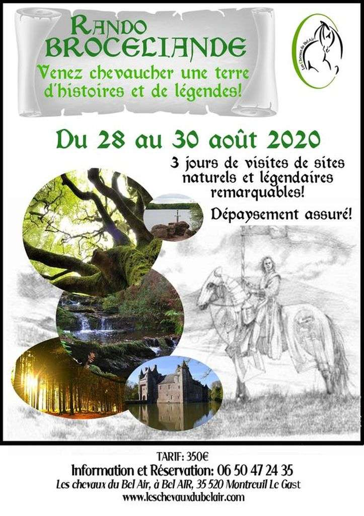 RANDO BROCELIANDE 2020